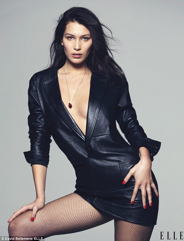 Bella Hadid stars in revealing and risque new fashion shoot
