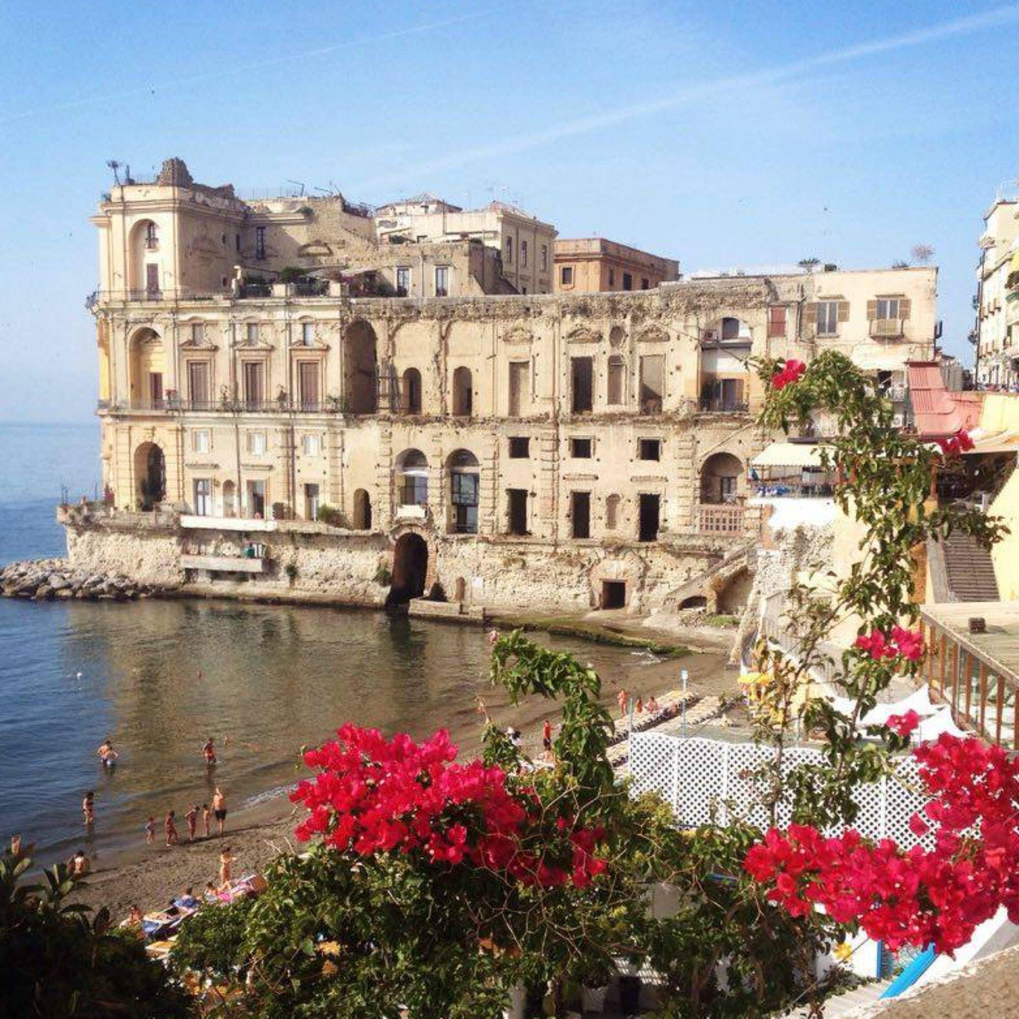 Palazzo donn'Anna, Posillipo Southern italy, Italy, Napoli