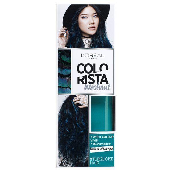 Colorista washout turquoise semi permanent hair dye turquoise colorista washout turquoise semi permanent hair dye pmusecretfo Choice Image