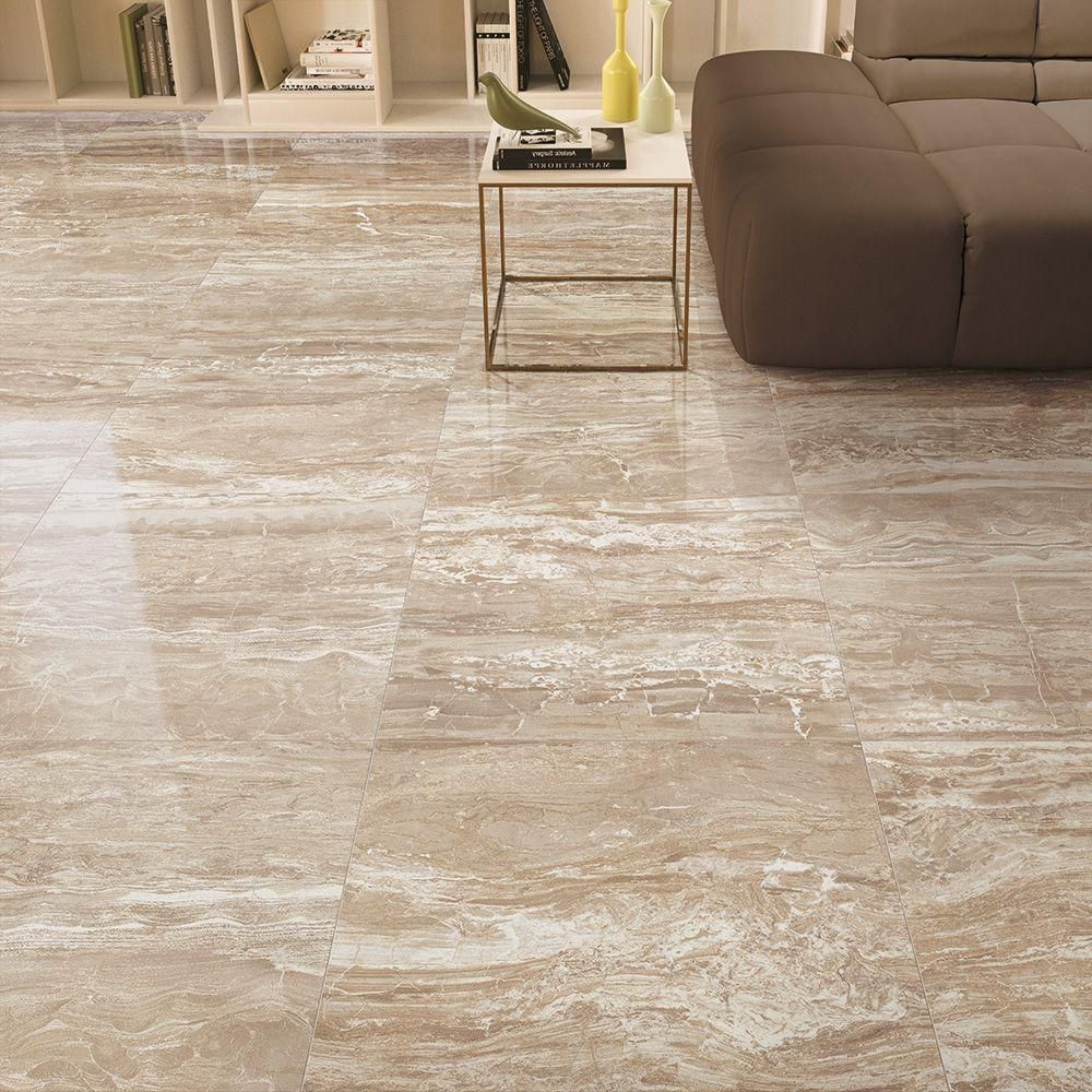 Final product porcelain floor tile httphomedepotp corso italia impero champagne 24 in polished porcelain floor and wall tile sq doublecrazyfo Choice Image