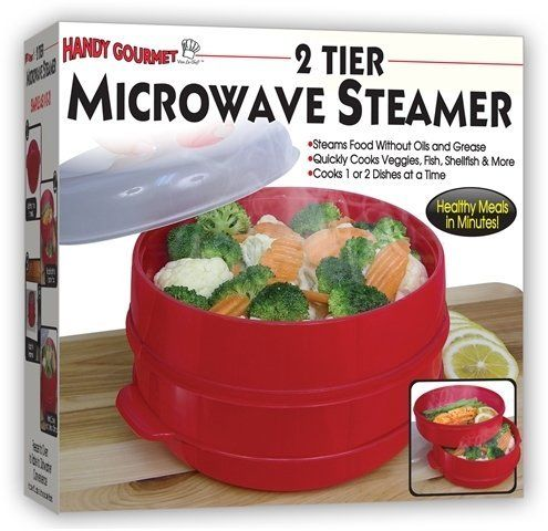 2 Tier Microwave Steamer Food Cooker As Seen On Tv Product Category