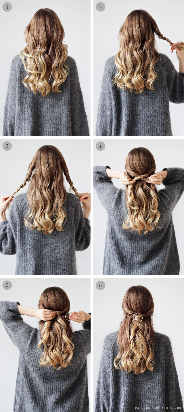 Easy everyday updo hair pinterest hair styles hair and hair