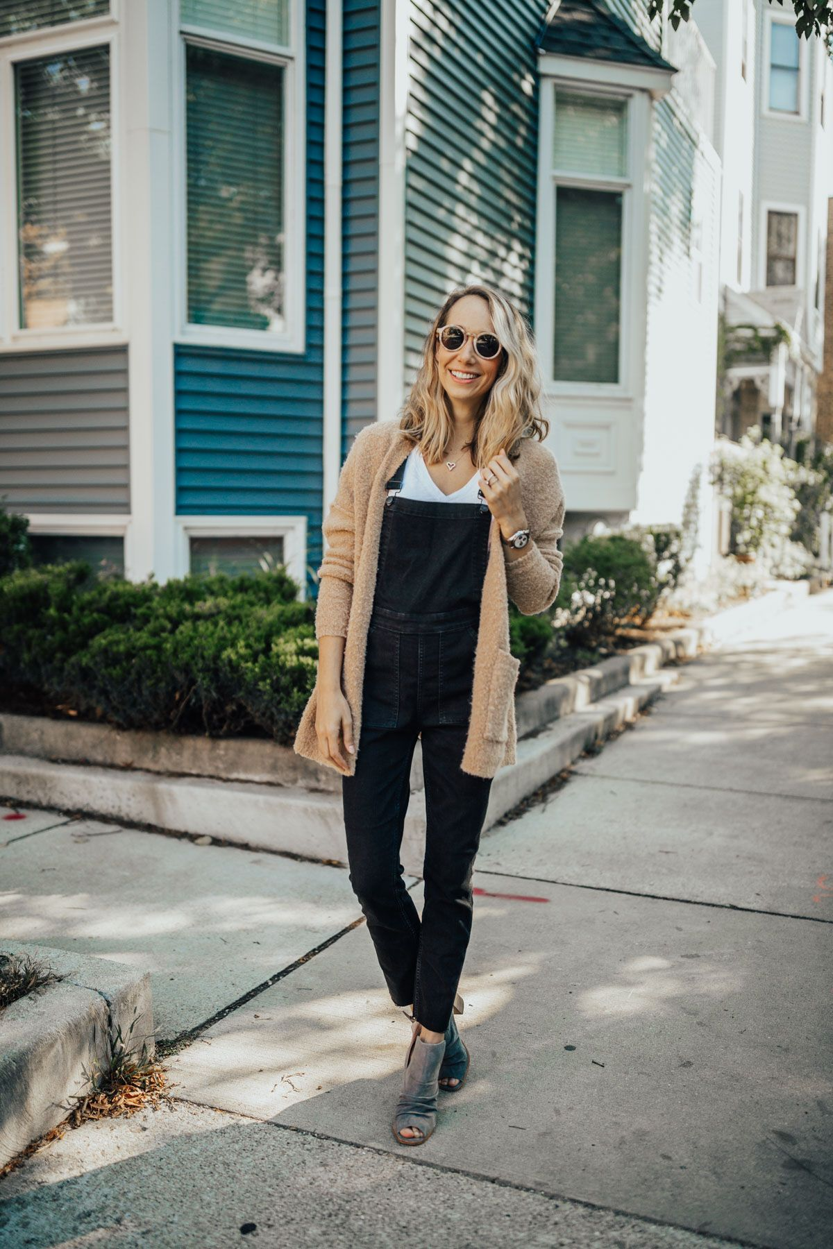 04e58fd381fe Autumn Winter Fashion · Spring Fashion · 4 Ways to Wear Overalls by Blair  Staky | The Fox & She Overalls Outfit