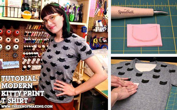 Camisetas DIY sellos