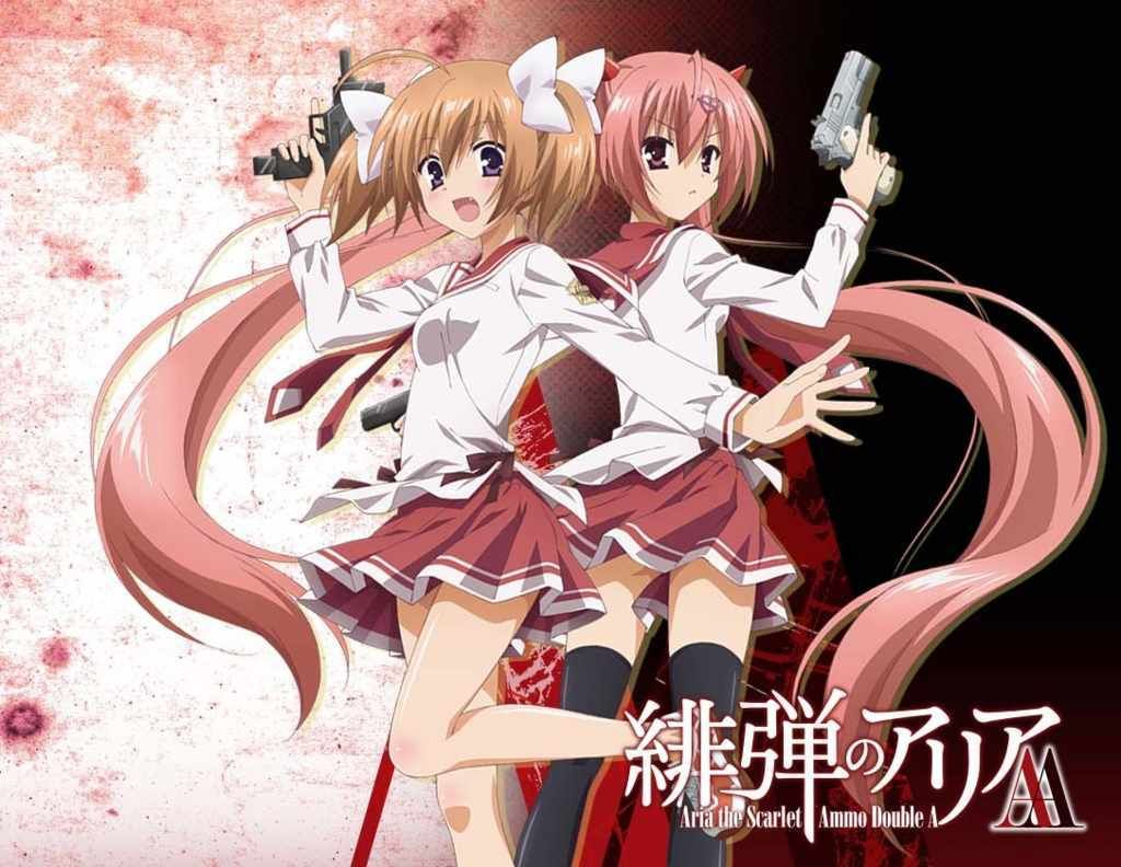 122 Best Hidan No Aria Aria The Scarlet Ammo Images In 2020
