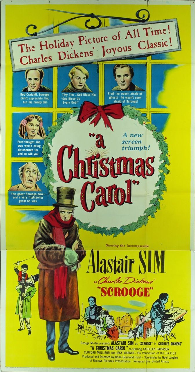 Scrooge (1951) 9742 Movie Posters from MovieArt Austin