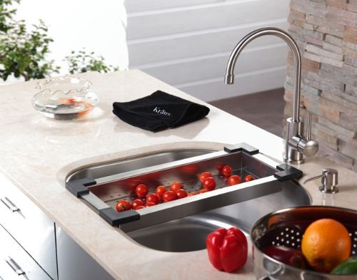 With Clean Lines And Sleek Shapes, Kraus Kitchen Accessories Provide  Everyday Efficiency With Style.