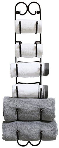 Decobros Wall Mount MultiPurpose Towel/Wine/Hat Rack