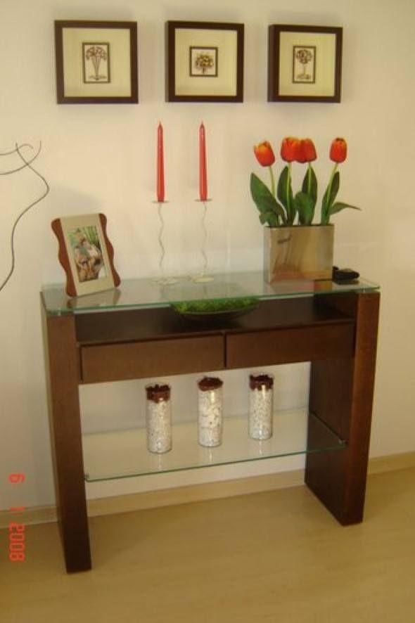 Como decorar um hall de entrada de apartamento 005 Aparadores Entrada de apartamento  -> Como Decorar Hall De Entrada De Elevador