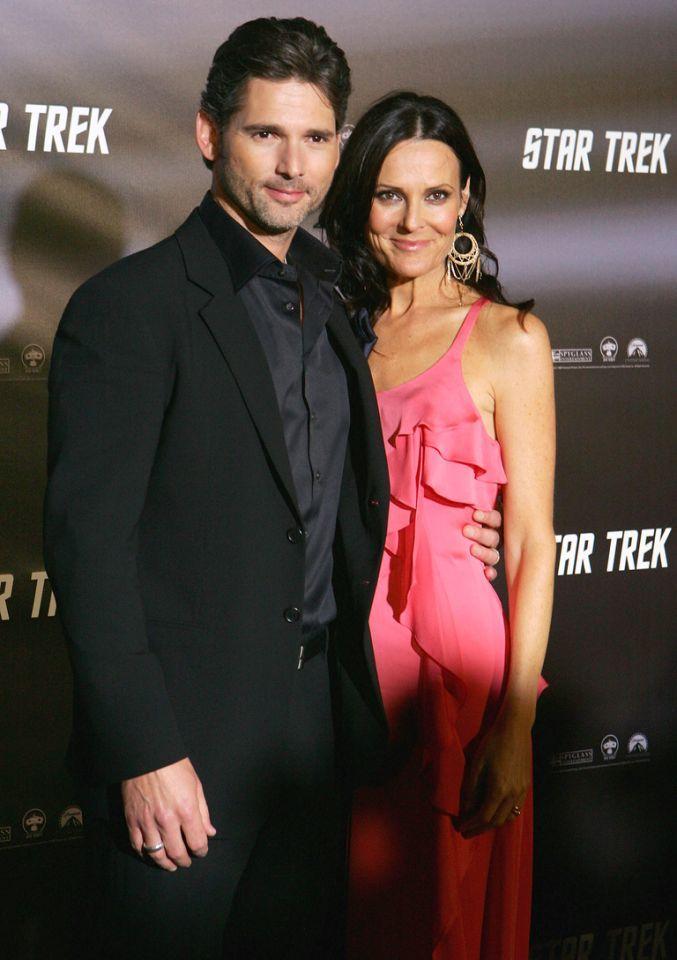 Red Carpet Flashback 40 Years Of Star Trek Premieres Tv