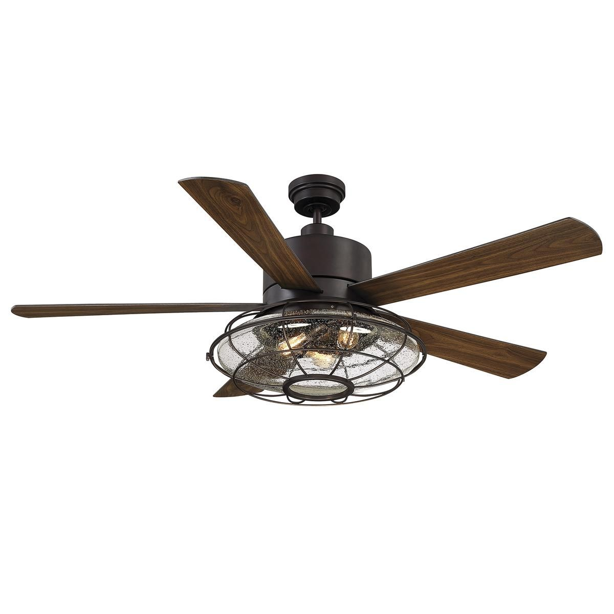 56 West Loop Caged Ceiling Fan With Images Ceiling Fan With