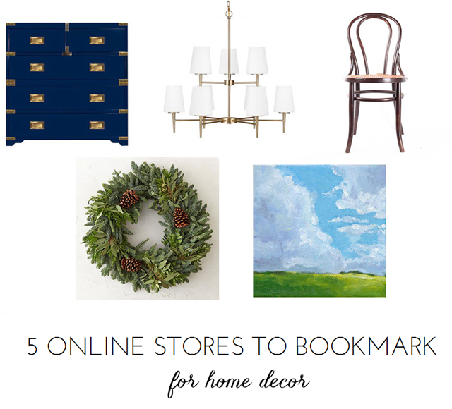 5 Online Stores To Bookmark ASAP