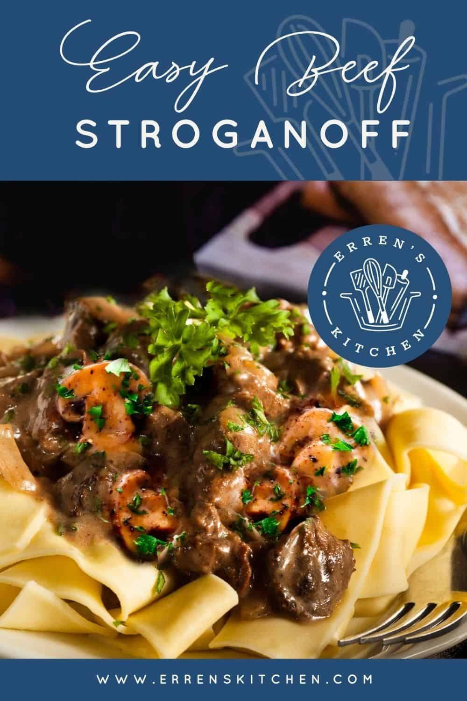 Easy Beef Stroganoff Recipe Beef Stroganoff Beef Dishes