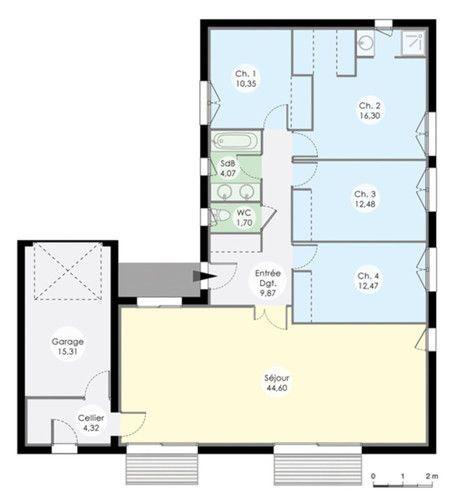 Maison De Plainpied | Faire Construire Sa Maison, Construire Et