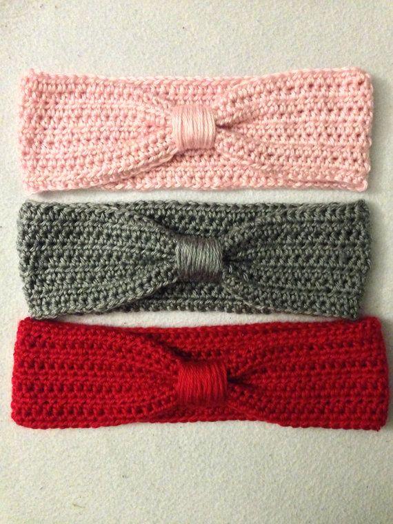 Turban Inspired Knotted Crocheted Headband | crochet | Pinterest ...