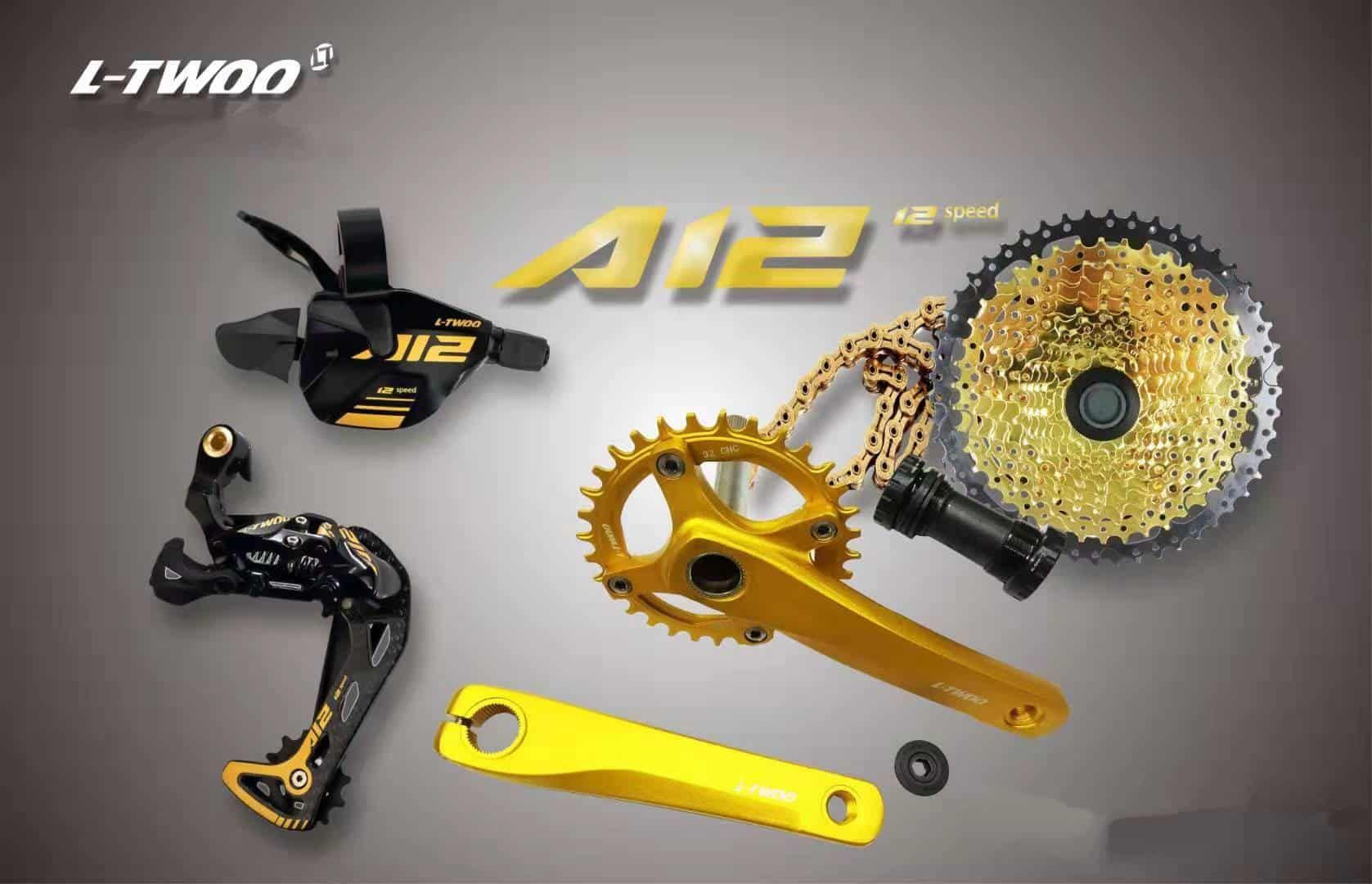 Mini Groupset Ltwoo Gold Edition Komponen Sepeda Produk Sepeda