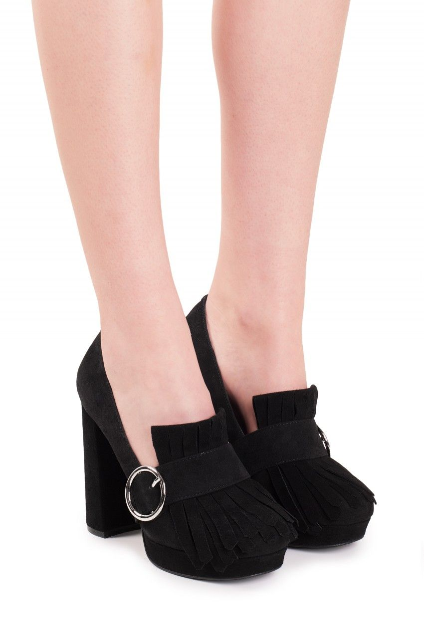 Jeffrey Campbell Shoes BERNICE-H Heels in Black