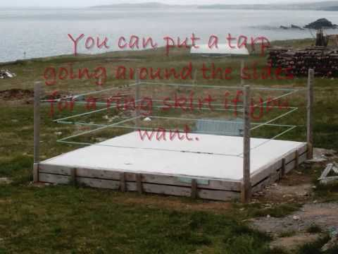 How To Make Your Own Wrestling Ring 8 Steps With Pictures Backyard Wrestling Ring Diy Rings