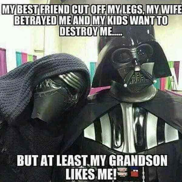 37 Funny Quotes And Sayings About Funny Memes Star Wars Humor Star Wars Memes Funny Star Wars Memes