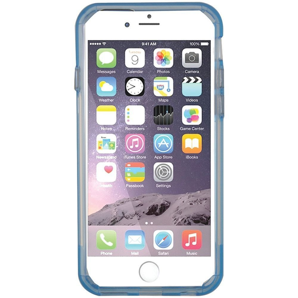 Pure Gear 11198vrp Iphone R 6 6s Slim Shell Pro Case Clear Blue
