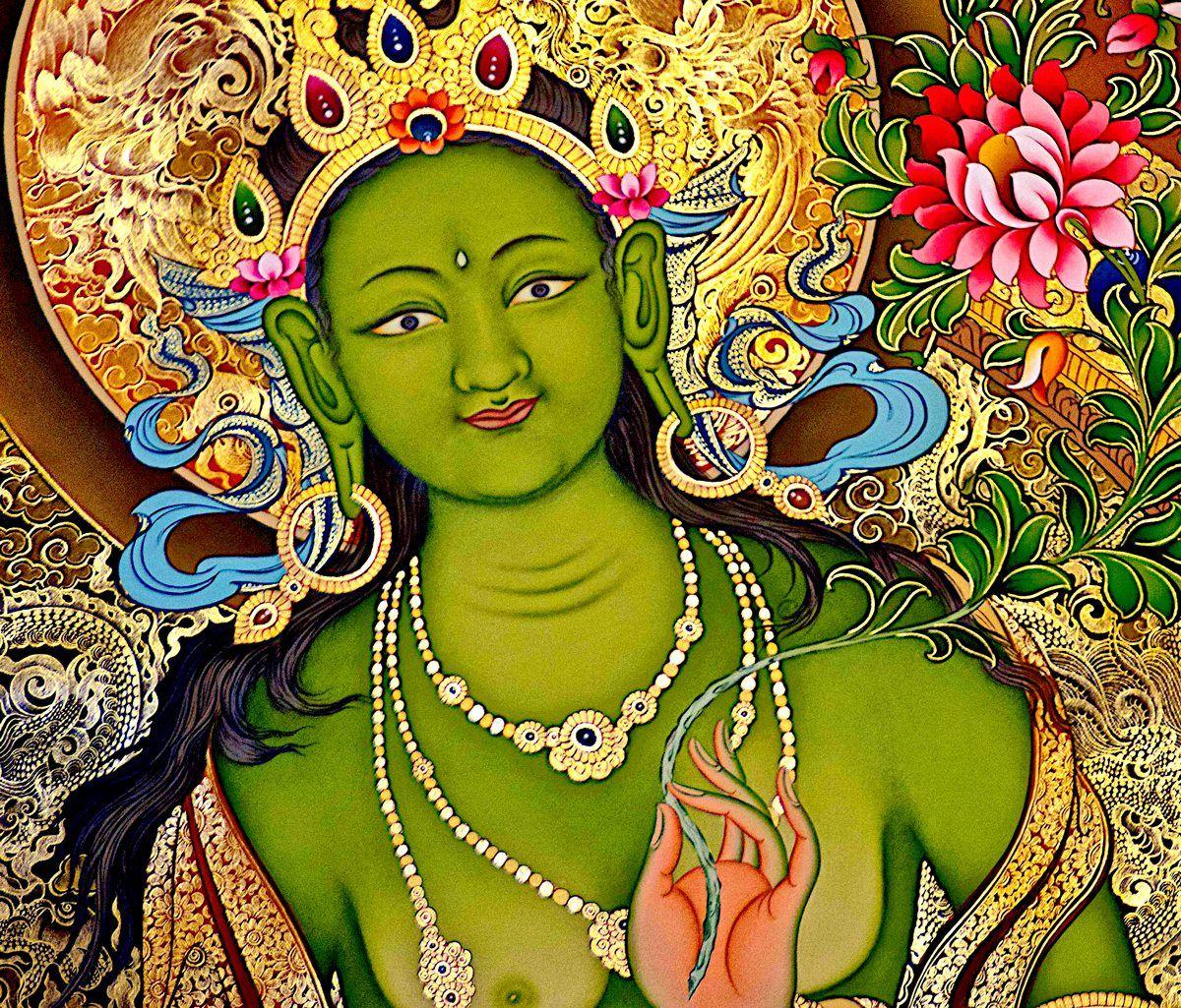 бывают сорта зеленая тара в буддизме картинки выравнивание самый