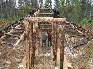 Pithouse Construction | Unist'ot'en Camp | Straw Bale, Cob