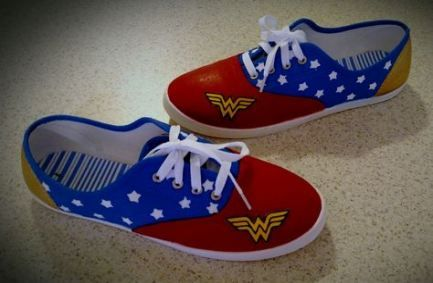 59 New Ideas For Painting Canvas Shoes Wonder Woman 59 new ideas for painting canvas shoes wonder woman Woman Shoes wonder woman shoes diy