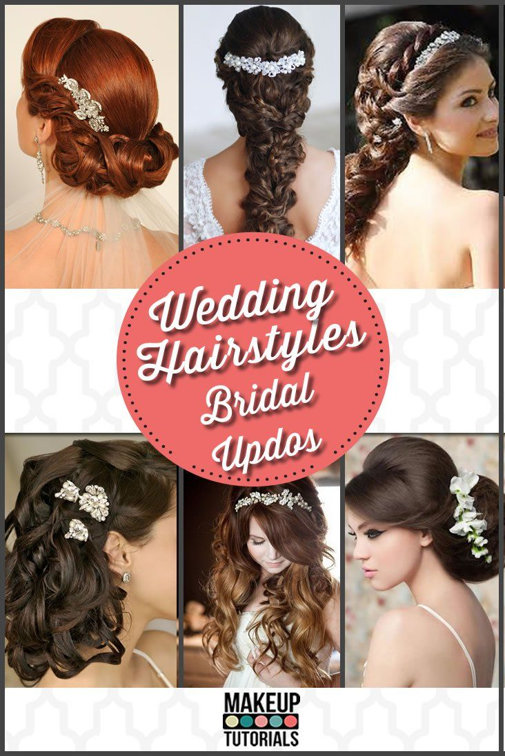 Wedding Hairstyles | Weddings, Updos and Hair coloring