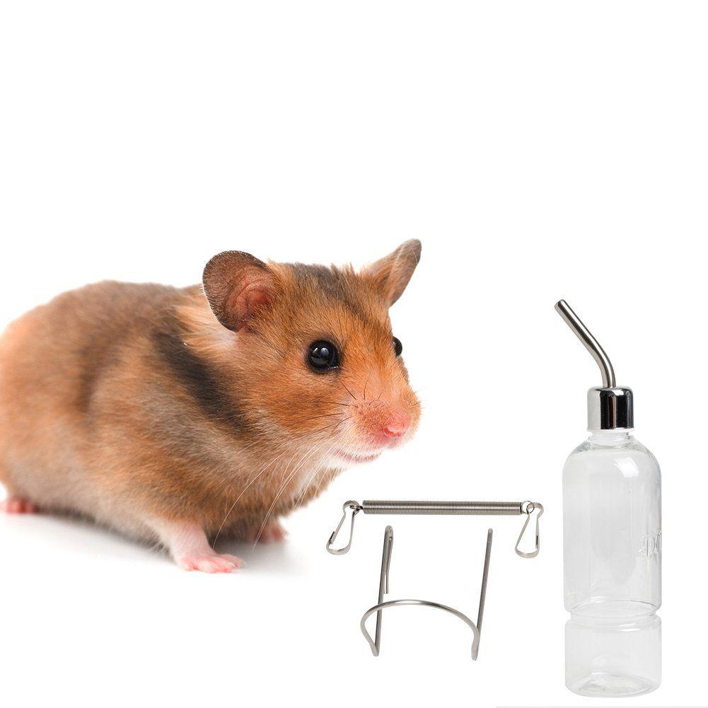 e6ac692403d3 Itemap 350ml Pet Rat Water Drinking BottleHamster Rabbit Dispenser ...