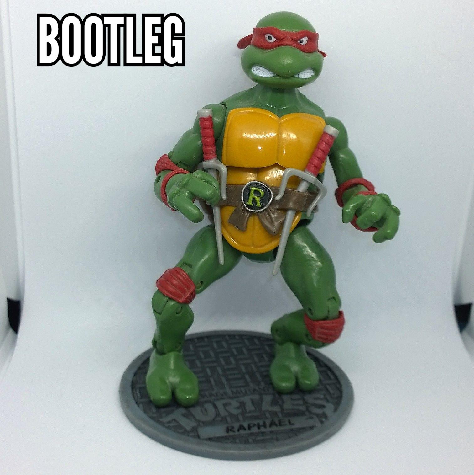 Teenage Mutant Ninja Turtles Classics Tmnt Raphael 2012 Bootleg