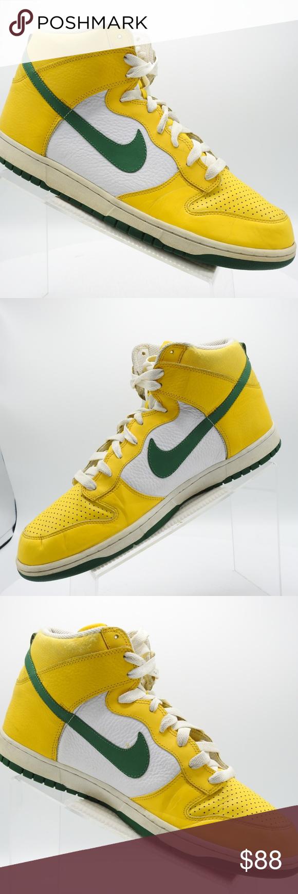 buy popular 22a5c f282f Nike Dunk High Brazil 317982-731 Sz 14 Mens Shoes Nike Dunk High Brazil  317982