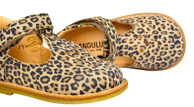 5b62a16c4f3b T-bar Dolly Shoes in Leopard Print from Angulus at Kidsen