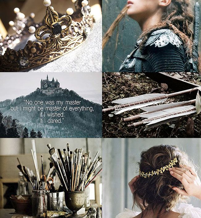 Feyre Archeron Aesthetic From Sarah J Maas A Court Of Thorns