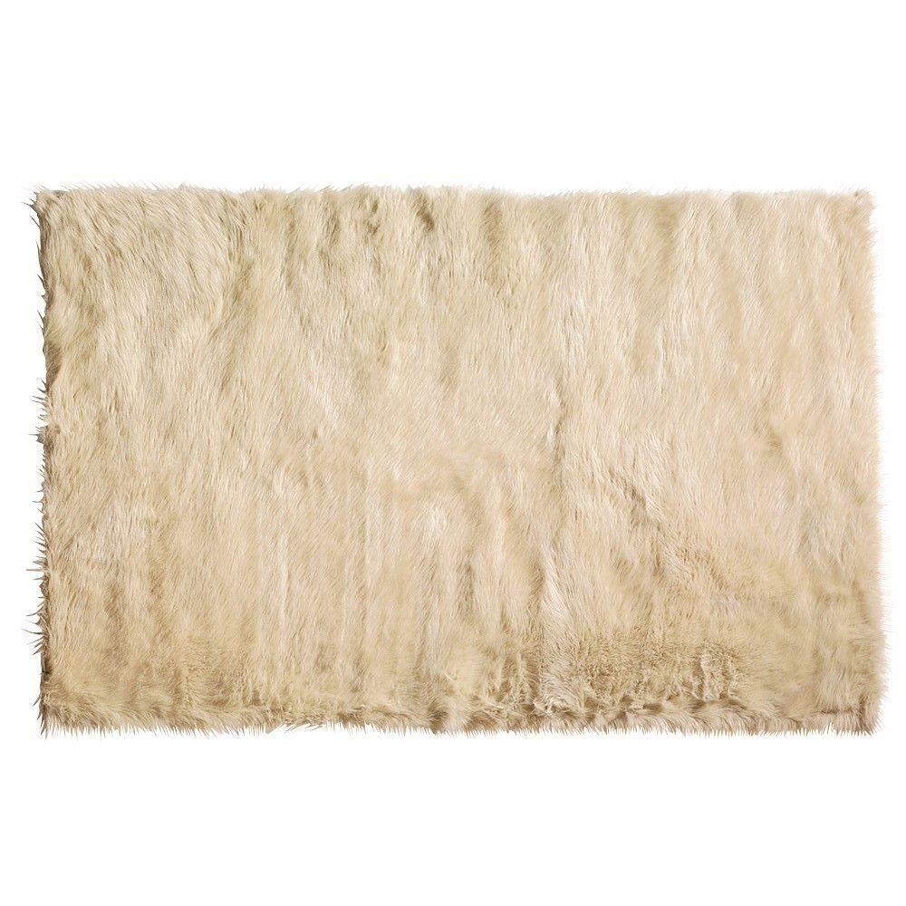 Home Decorators Collection Faux Sheepskin Beige 3