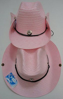 ac7f544412d Other Wholesale Womens Accs 50983  60 Pink Straw Cowboy Hats Cowgirl Womens Western  Hat W