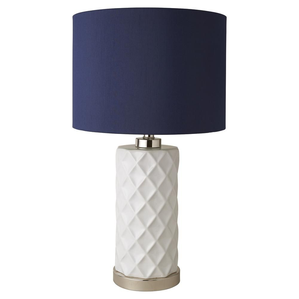 Https Interiorsonline Com Au Products Hampton Lamp With Navy