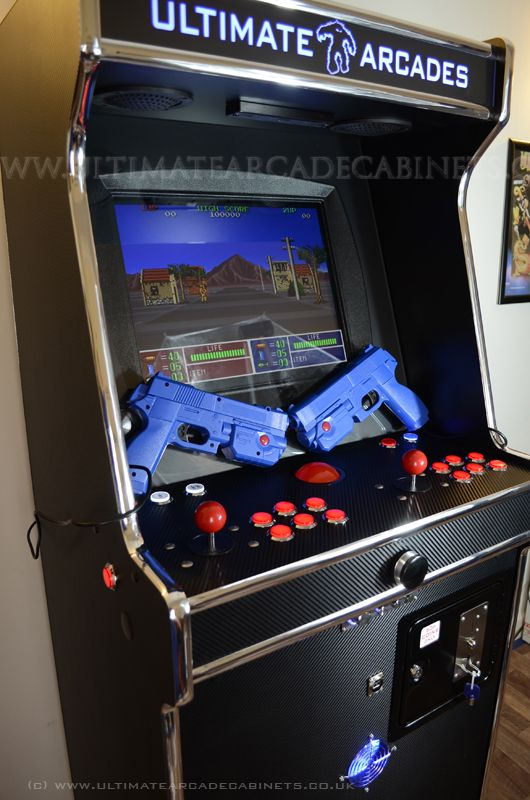 Dual Light Gun Arcade Machine Arcade Cabinet Ideas