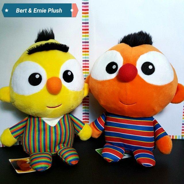 7b05427f699 Baby Bert   Ernie Beanie Plush Set (Sesame Street)
