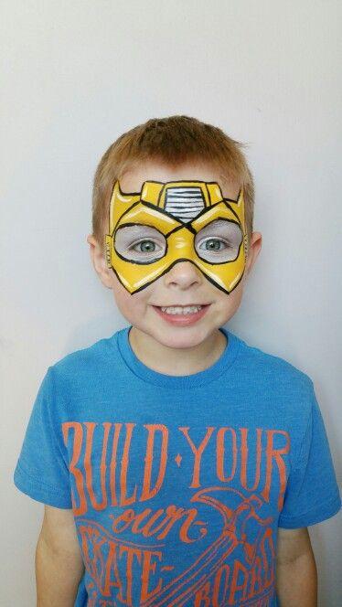 Transformer Face Paint : transformer, paint, Awesome, Transformer, Fanciful, Facepainting, Facebook, Pinta, Caras, Niños,, Pintura, Infantil,, Niños