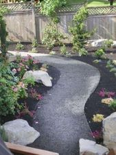 Classy Garden Path And Walkway Design And Remodel Ideas 31,  #Classy #design #garden #gardendesignideaswalkways #ideas #Path #Remodel #Walkway