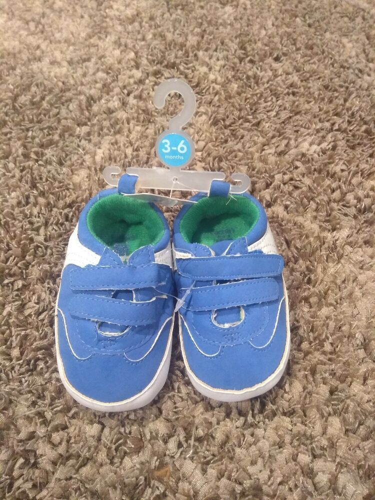 d33b0c1fa4418 Carters Shoes Infant Blue Green Baby Boy 3-6 Months with Velcro Straps # fashion #clothing #shoes #accessories #babytoddlerclothing #babyshoes (ebay  link)