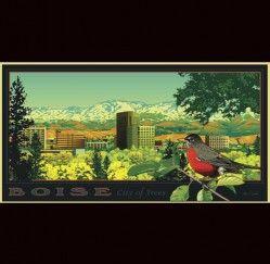 Boise Panorama | The Art of Ward Hooper