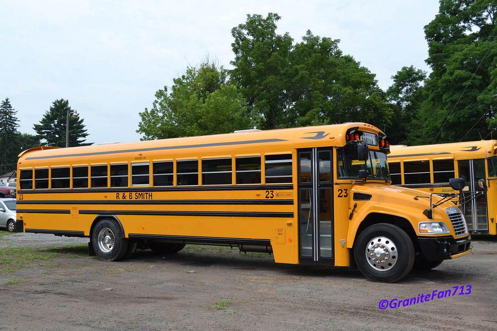 A 2013 Bluebird vision  Bet this bus has the cummins 200