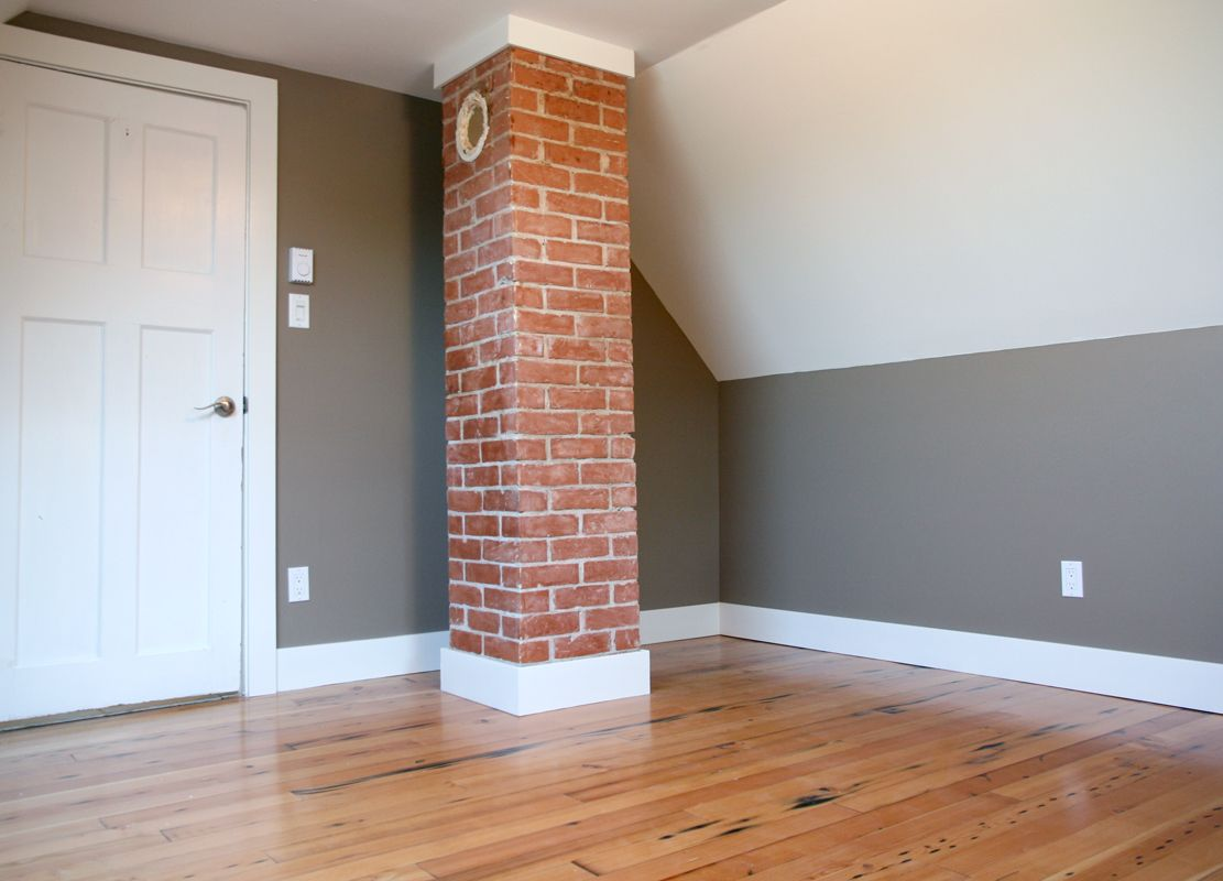 I Wonder If We Could Expose The Brick On Our Two Chimneys
