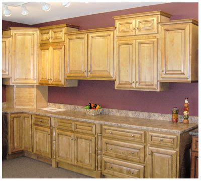Colonial Maple Cabinets Maple Kitchen Cabinets Maple Cabinets House Interior