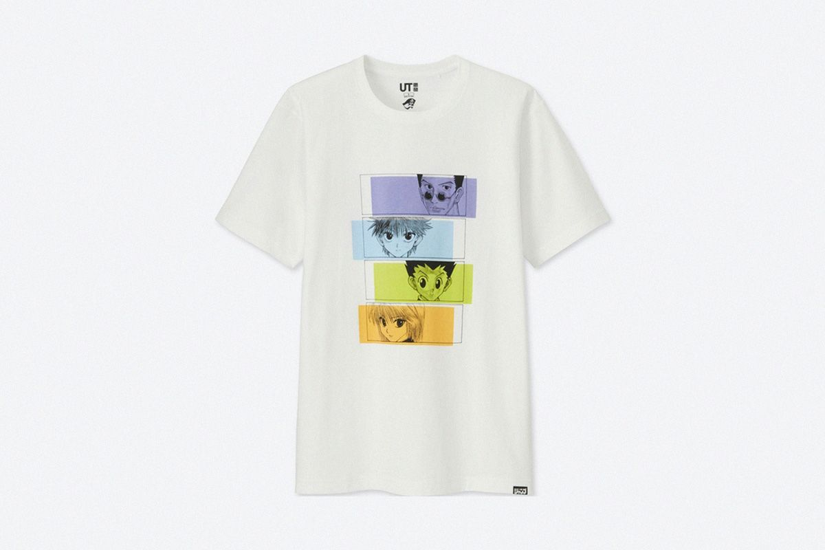 uniqlo ut weekly shonen jump drop the ultimate anime t shirt capsule mens tops uniqlo t shirt