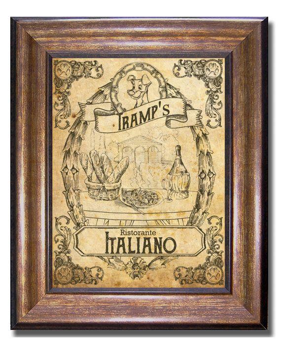 prints tramps vintage