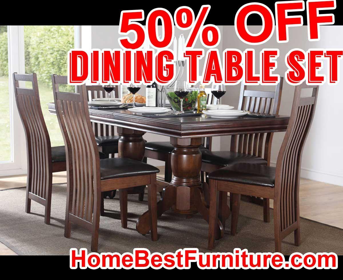 50 percent off discount chatsworth dark wood extending dining