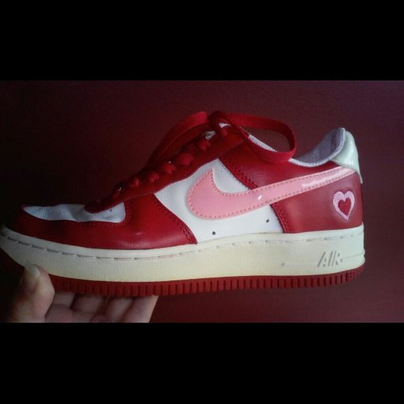 F0 9f 92 96limited Edition Nike Valentine Day Air Force One Final Price Cut Limited Edition Rare
