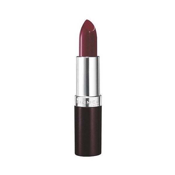 Rimmel Lasting Finish Lipstick Bordeaux (6.94 AUD) ❤ liked on Polyvore featuring beauty products, makeup, lip makeup, lipstick, bordeaux, rimmel lipstick and rimmel